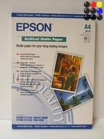 Бумага Epson S041342,(A4), матовая архивная 192 г/m2/50л