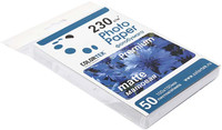 Бумага Colortek (10*15см) 230 г/м2, 50 листов  матовая одностор