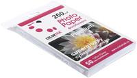 Бумага Colortek (10*15см) 260 г/м2, 50 листов  Суперглянец