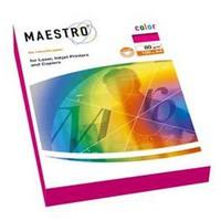 Бумага  Maestro/GR21 серый A4, color 80г, 100 листов