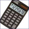 Калькулятор Citizen SLD-100 (карманный, 8разр,дв.пит,черный,жесткий корпус)